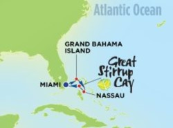 Norwegian Sky 4-night Bahamas Cruise itinerary