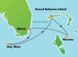 Norwegian Sky 4-night Key West & Bahamas Cruise itinerary