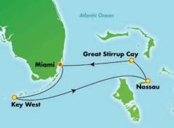 Norwegian Sky 4-night Key West & Bahamas Cruise