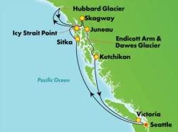 Norwegian Sun Alaska Glaciers Cruise