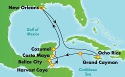 Norwegian Western Caribbean Cruise itinerary