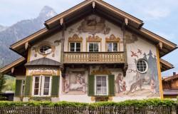 Oberammergau building facade