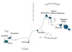Fiji Tonga & Cook Islands itinerary