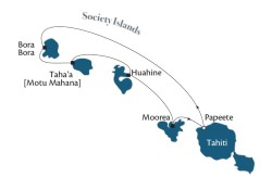 Tahiti & Society Islands itinerary