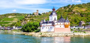 Pfalzgrafenstein Castle in the Rhine River Valley