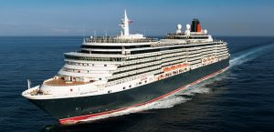 Cunard Line's Queen Victoria ship at sea