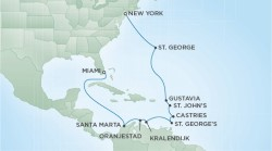 Pink Sands & Crystal Seas Cruise itinerary