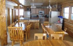 Savory Creek Lodge dining room