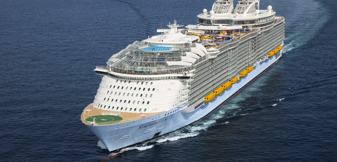 Symphony of the Seas at sea