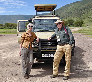 Owners in Ngorongoro Crater