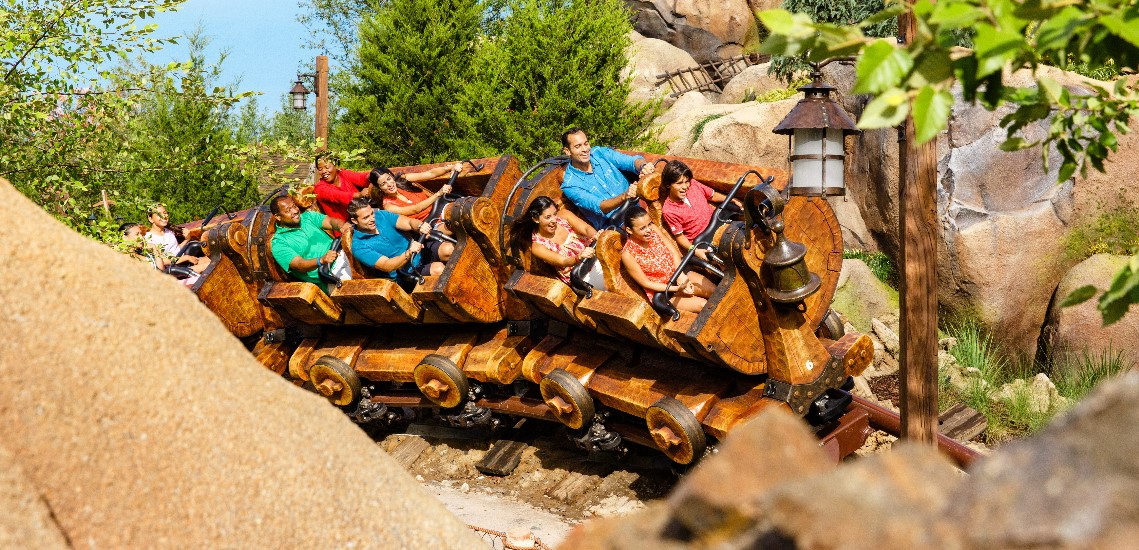 Magic Kingdom's 7 Dwarves Mine Train ride