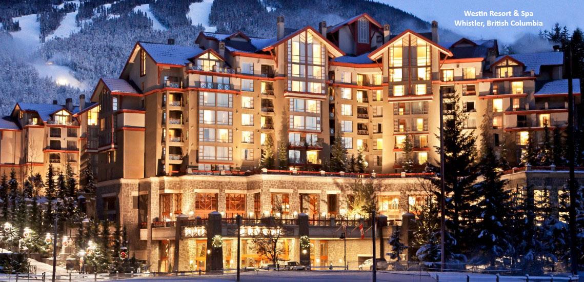 Westin Resort & Spa, Whistler, British Columbia