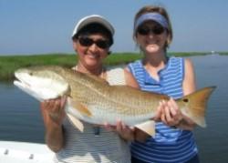 Women with Redfish